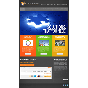 Website Design: The Moscardelli Colsulting Group Inc